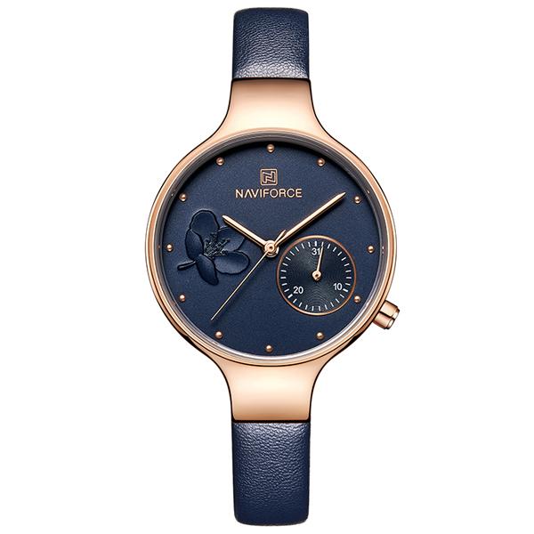 ساعت مچی عقربه ای زنانه نیوی فورس مدل NF5001-rgbebe