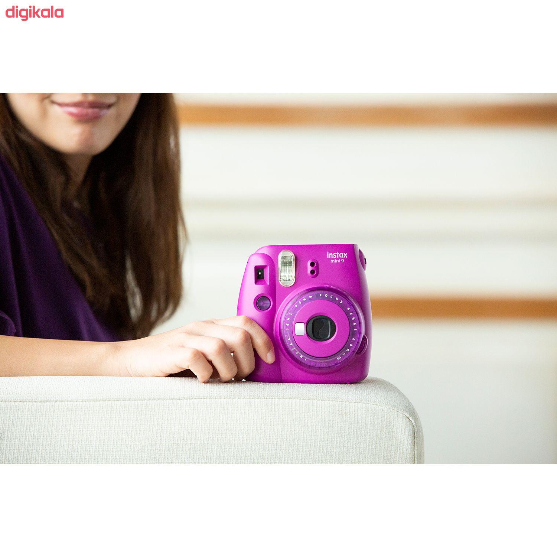 دوربین عکاسی چاپ سریع فوجی فیلم مدل Instax Mini 9 Clear main 1 43