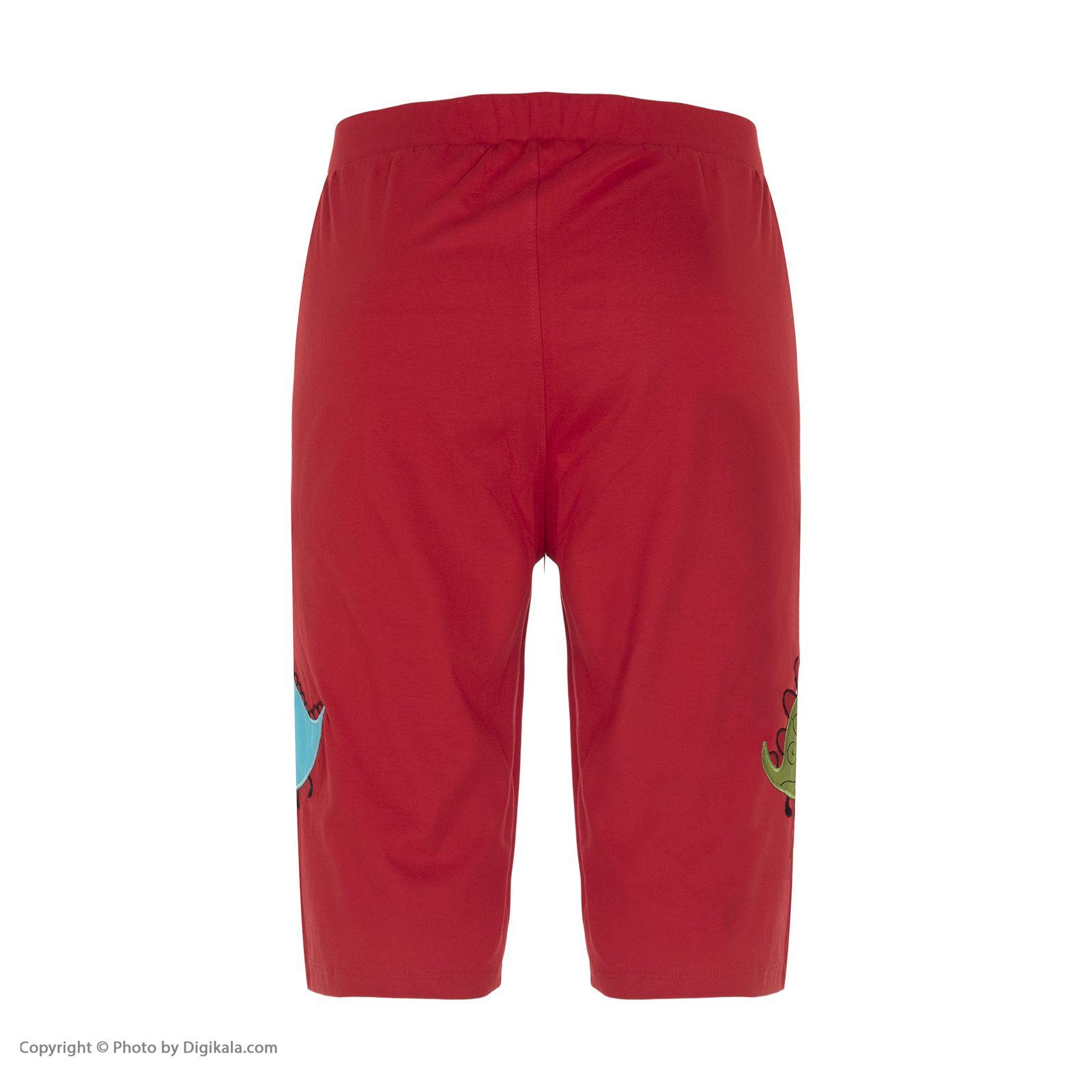 ست تی شرت و شلوارک راحتی مردانه مادر مدل 2041110-74 -  - 11