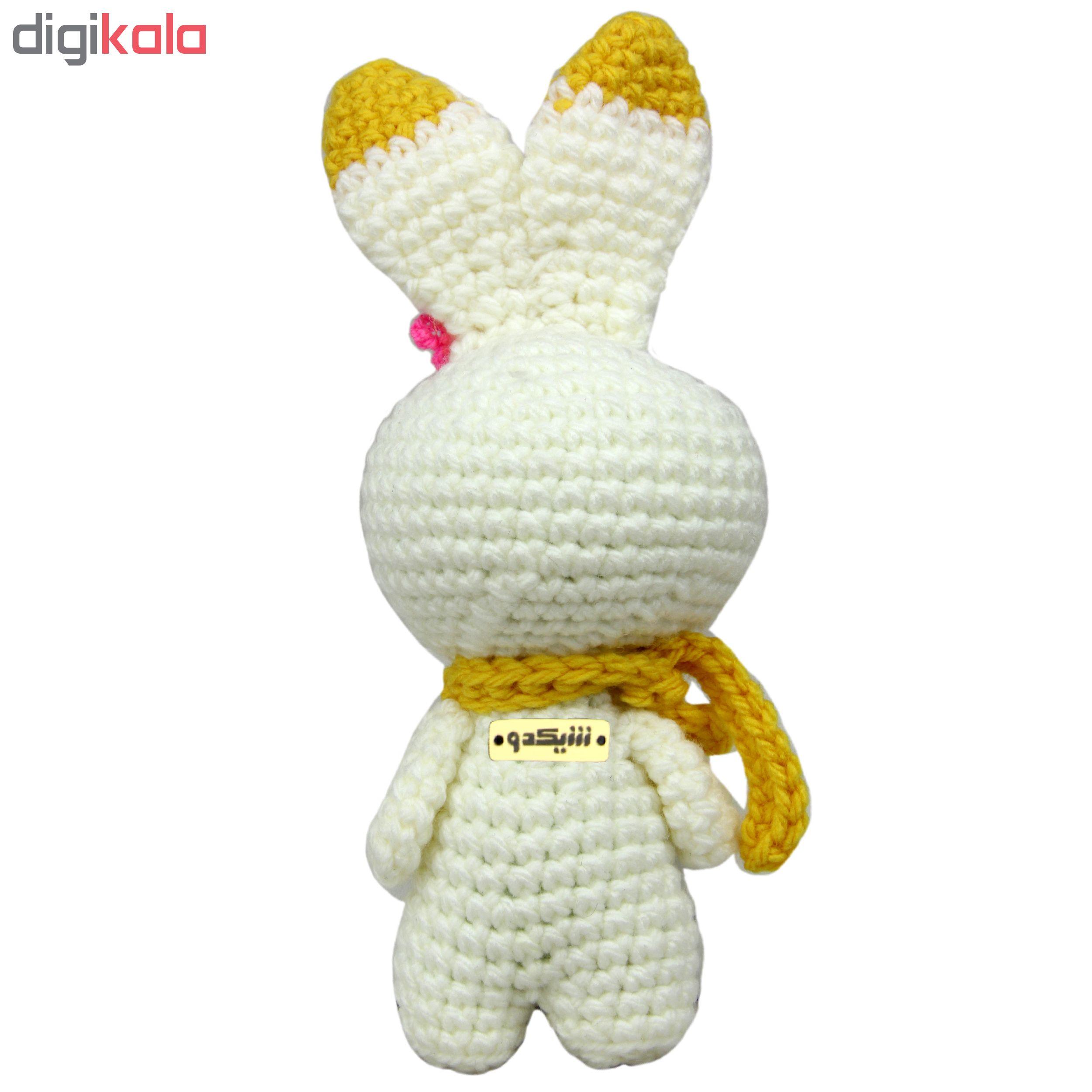 خرید                      عروسک بافتنی شیکدو مدل ty30 ارتفاع 22 سانتیمتر