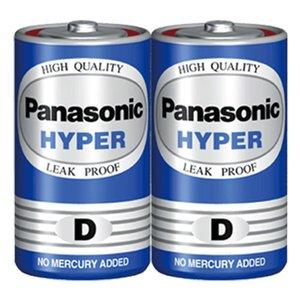 باتری سایز بزرگ پاناسونیک Hyper D 1.5V