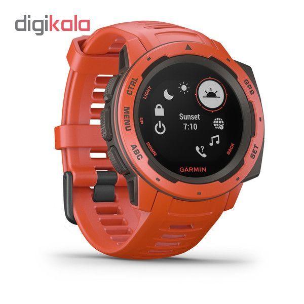 ساعت هوشمند گارمین مدل instinct main 1 2