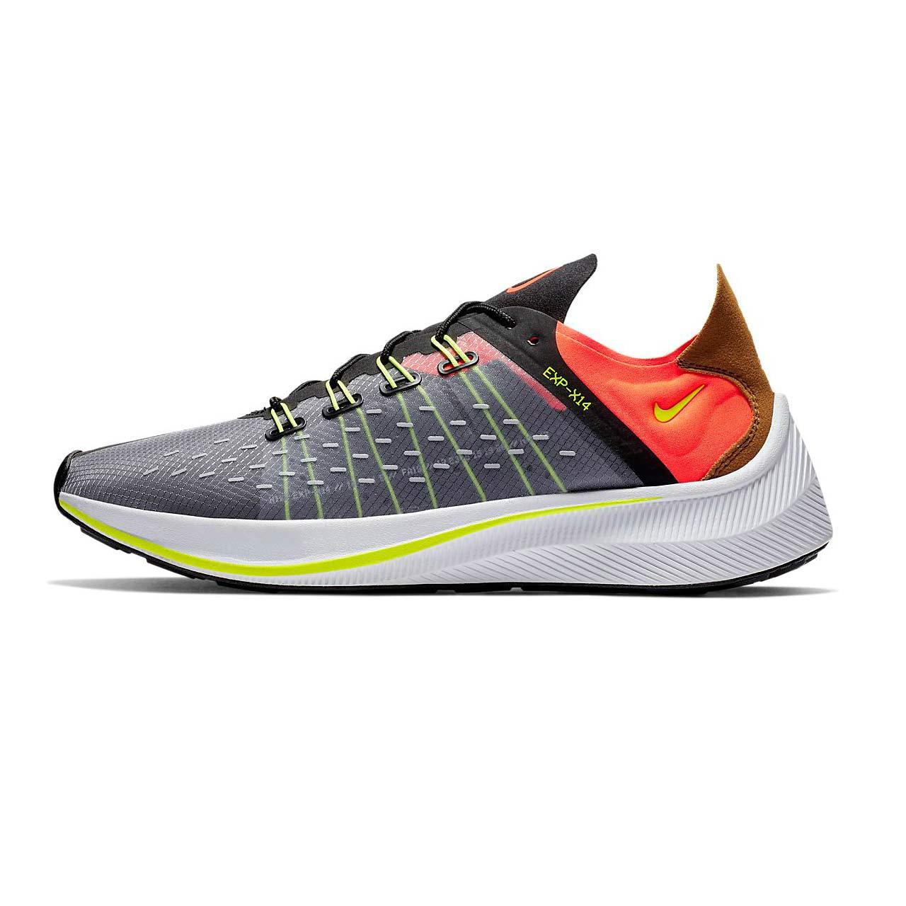قیمت کفش مخصوص پیاده روی مردانه نایکی مدل XP-Grey Orange