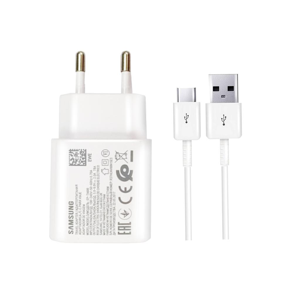 شارژر دیواری مدل EP-TA600 به همراه کابل تبدیل USB-C