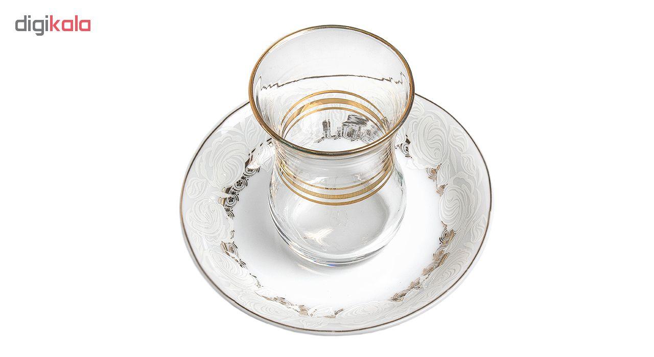 سرویس چای خوری 12 پارچه پرانی مدل 7004