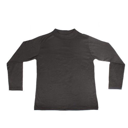 پیراهن بچگانه آستین بلند وچیون مدل مشکی ساده