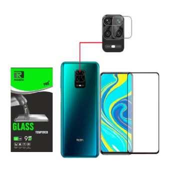 محافظ صفحه نمايش روبیکس مدل FUA مناسب برای گوشی موبایل شیائومی Redmi Note 9S/9 pro/9/9 pro max به همراه محافظ لنز دوربین