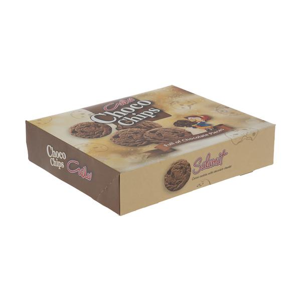 شیرینی کاکائویی با تکه های شکلات سلامت - 290 گرم