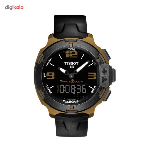 خرید ساعت مچی عقربه ای مردانه تیسوت مدل T-Race Touch T081.420.97.057.06