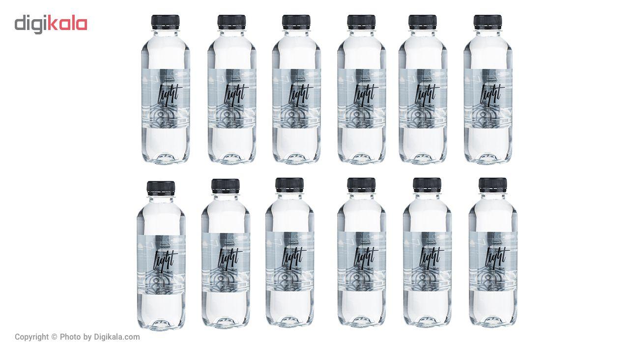 آب آشامیدنی لایت بلو حجم 350 میلی لیتر بسته 12 عددی