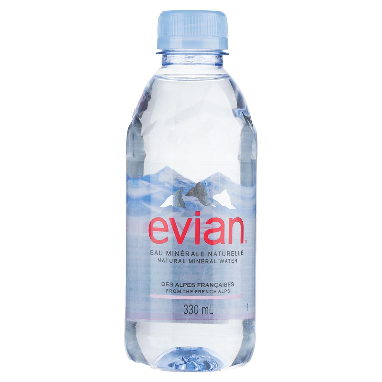 آب معدنی طبیعی اویان حجم 330 میلی لیتر