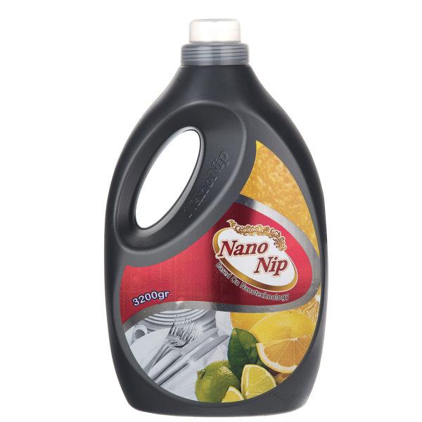 مایع ظرفشویی نانو نیپ مدل Orange Lemon مقدار 3200 گرم