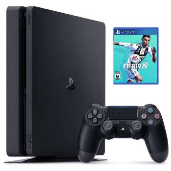 کنسول بازی سونی مدل Playstation 4 Slim کد Region 2 CUH-2216A ظرفیت 500 گیگابایت |
