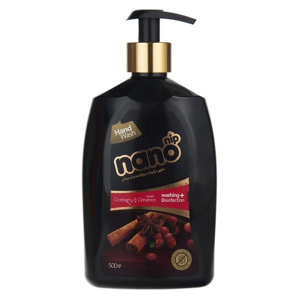 مایع دستشویی نانو نیپ مدل Cranberry And Cinnamon مقدار 500 گرم