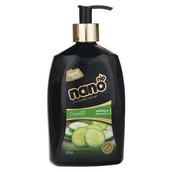 مایع دستشویی نانو نیپ مدل Cucumber مقدار 500 گرم