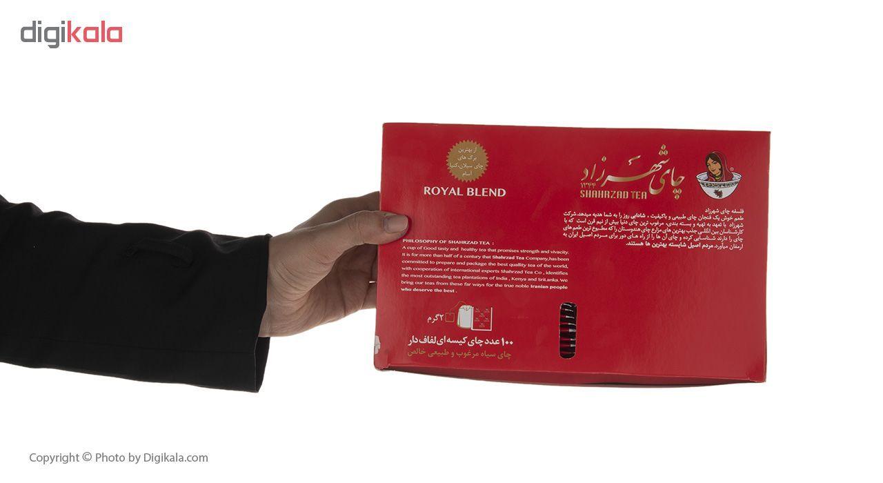 چای کیسه ای شهرزاد بسته 100 عددی main 1 1