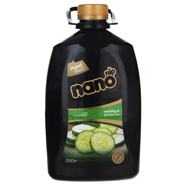 مایع دستشویی نانو نیپ مدل Cucumber مقدار 2500 گرم