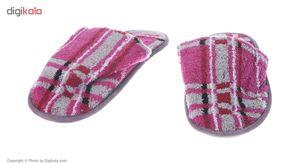 دمپایی حوله ای برق لامعمدل Modern  Bargh Lame Modern Towel Slipper