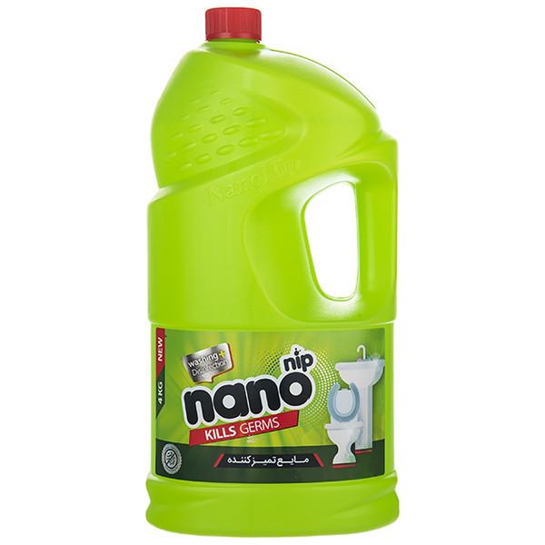 مایع تمیز کننده نانو نیپ سری Disinfection مقدار 4000 گرم