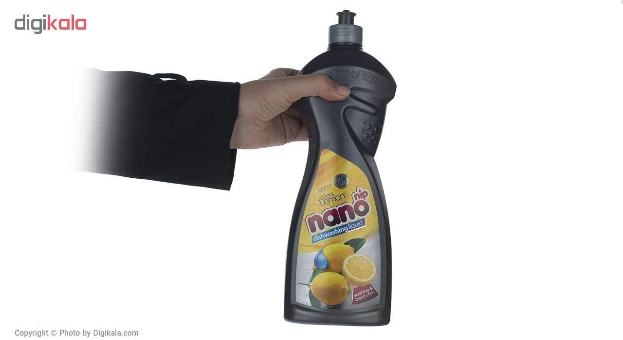 مایع ظرفشویی نانو نیپ مدل Lemon مقدار 1000 گرم main 1 2