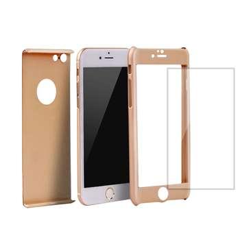 کاور میراکیس مدل 360 Full Protect 3in1 مناسب برای گوشی موبایل اپل iPhone 8