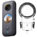 دوربین فیلم برداری اینستا 360 مدل One X2 SUN3543 به همراه کیس ضد آب