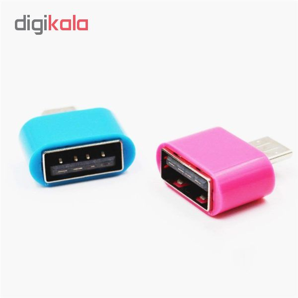 مبدل microusb به USB مدل mic-2 بسته 2 عددی