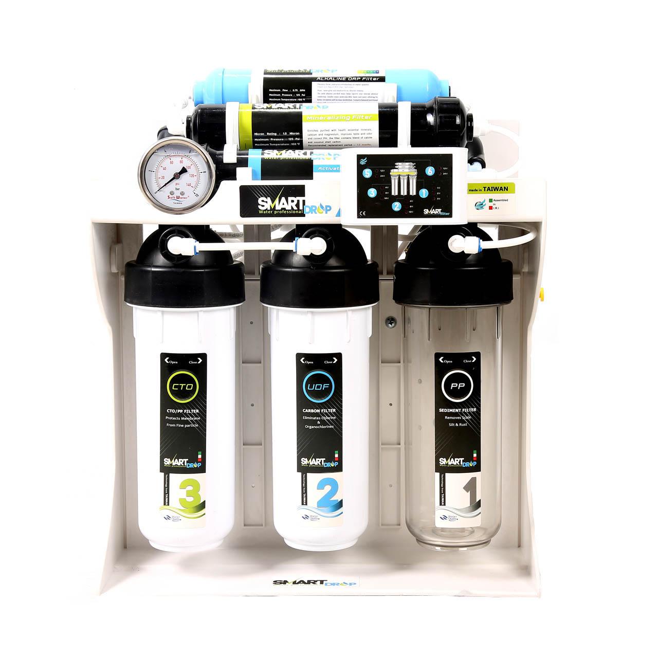 دستگاه تصفیه آب اسمارت دراپ مدل SD-RO7-PW