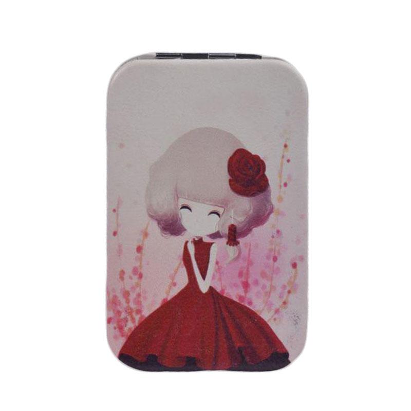 قیمت آینه جیبی طرح عروسک