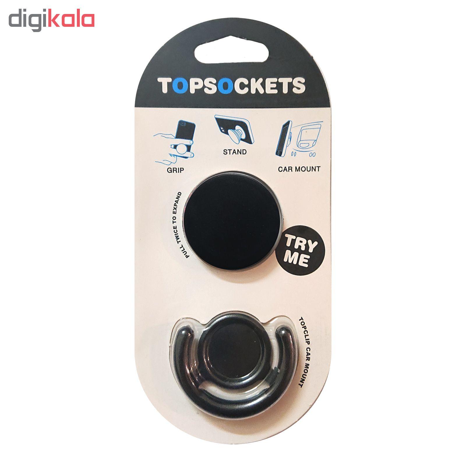 پایه نگهدارنده گوشی موبایل پاپ سوکت مدل تاپ سوکت 101 main 1 1