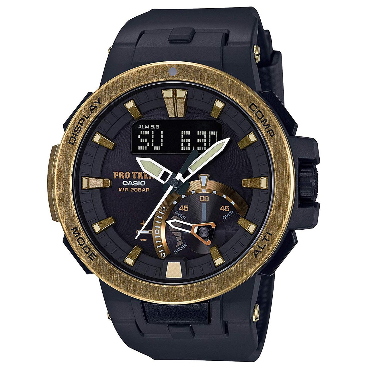 خرید ساعت مچی عقربه ای کاسیو پروترک مدل PRW-7000V-1DR
