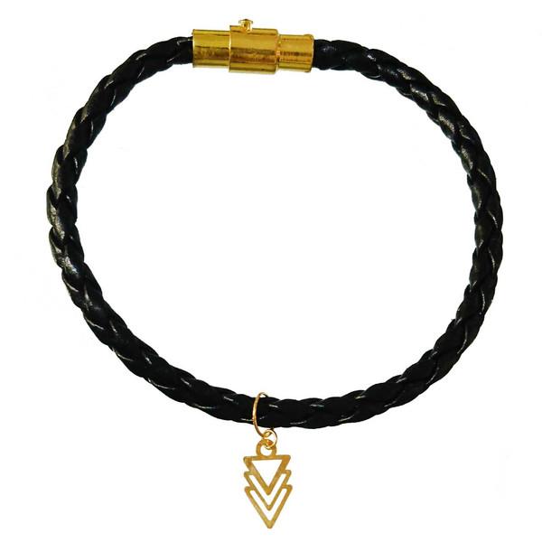دستبند طلا 18 عیار کانیار گالری مدل DL10