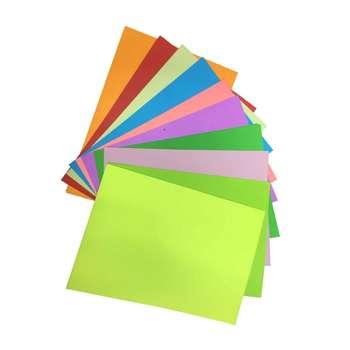 کاغذ رنگی مدل 7598 سایز A4 بسته 20 عددی