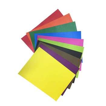 مقوا رنگی مدل 56 سایز 24×34 بسته 10 عددی