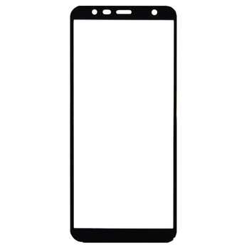 محافظ صفحه نمایش شیشه ای مدل Full مناسب برای گوشی موبایل سامسونگ Galaxy J4 Plus 2018