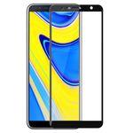 محافظ صفحه نمایش شیشه ای مدل Full مناسب برای گوشی موبایل سامسونگ Galaxy J6 Plus 2018 thumb