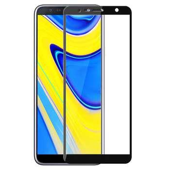 محافظ صفحه نمایش شیشه ای مدل Full مناسب برای گوشی موبایل سامسونگ Galaxy J6 Plus 2018