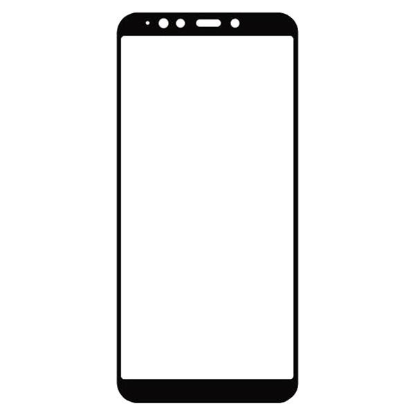 محافظ صفحه نمایش شیشه ای مدل Full مناسب برای گوشی موبایل سامسونگ Galaxy A7 2018 / A750