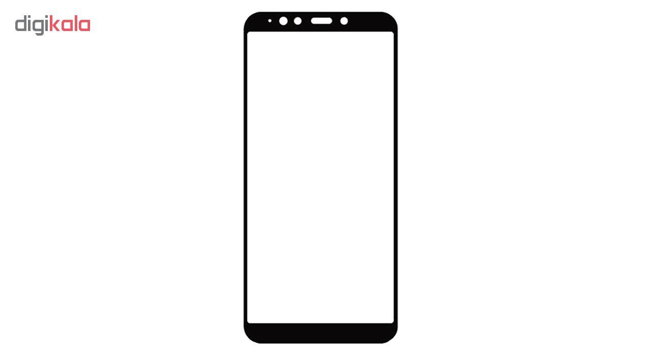 محافظ صفحه نمایش شیشه ای مدل Full مناسب برای گوشی موبایل سامسونگ Galaxy A7 2018 / A750 main 1 1