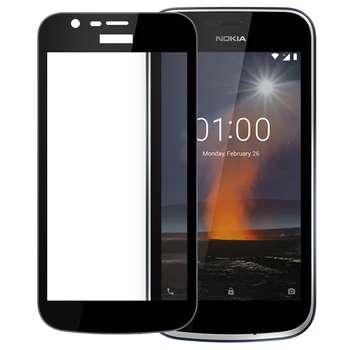 محافظ صفحه نمایش شیشه ای مدل Full مناسب برای گوشی موبایل نوکیا 1