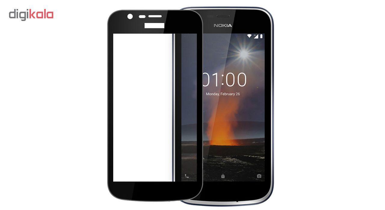 محافظ صفحه نمایش شیشه ای مدل Full مناسب برای گوشی موبایل نوکیا 1 main 1 1