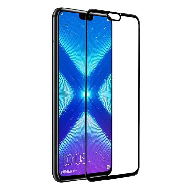 محافظ صفحه نمایش شیشه ای مدل Full مناسب برای گوشی موبایل هوآوی Honor 8X