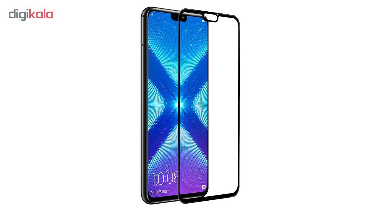 محافظ صفحه نمایش شیشه ای مدل Full مناسب برای گوشی موبایل هوآوی Honor 8X main 1 1