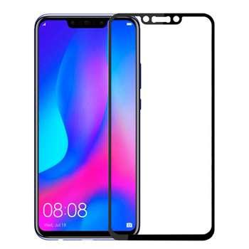 محافظ صفحه نمایش شیشه ای مدل Full مناسب برای گوشی موبایل هوآوی Nova 3i