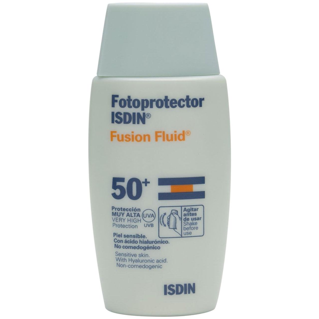 قیمت کرم ضد آفتاب ایزدین مدل Fusion Fluid حجم 50 میلی لیتر