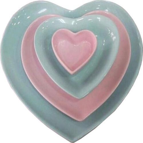 سرویس غذاخوری ۱۱ پارچه کرامیکا طرح قلبی