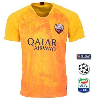 پیراهن ورزشی طرح آ اس رم مدل 3rd18/19 به همراه تگ |