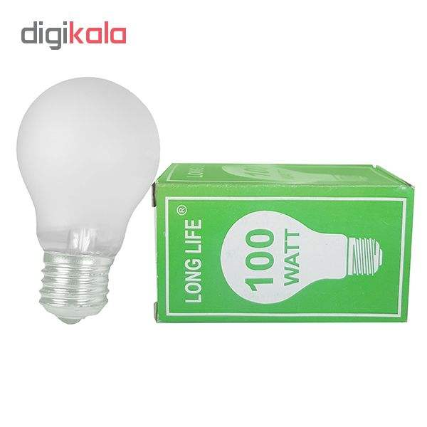 لامپ 100 واتی مدل E27 main 1 4