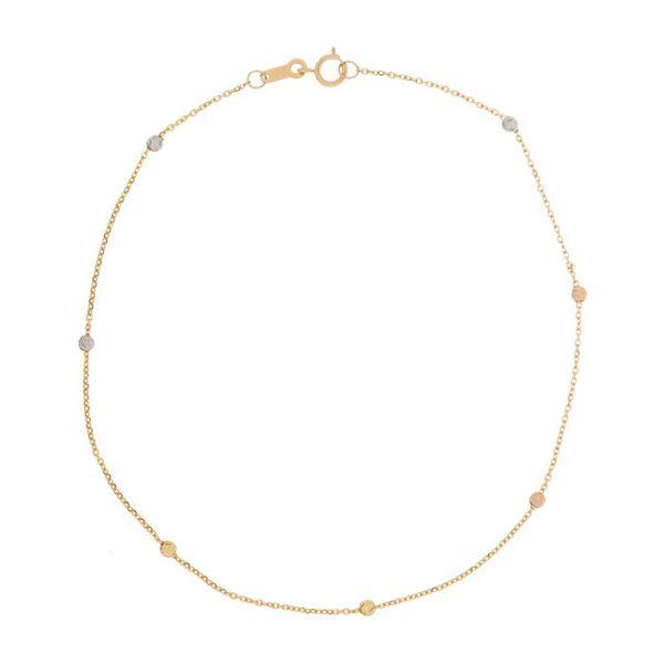 پابند طلا 18 عیار نازنین کد GR58