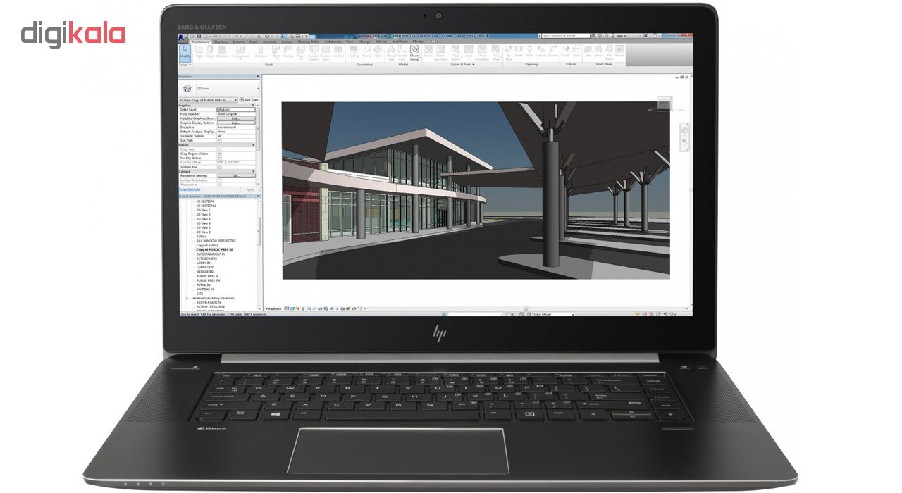 لپ تاپ 15 اینچی اچ پی مدل ZBook Studio G4 - C